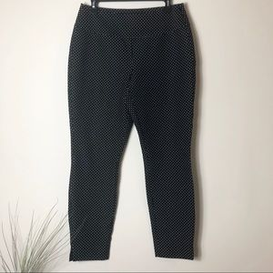 CAbi Black Polka Dot Pants